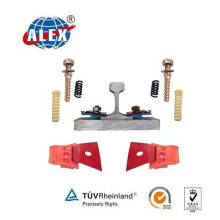 Nabla Railway Fastener System for Railroad